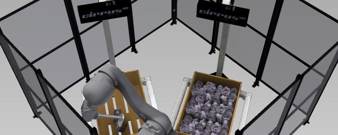 Scoprite la nostra soluzione per il Bin Picking
